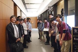 舟越先生歓迎会(2016.6.13)