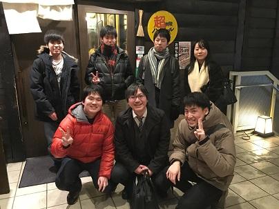 舟越先生歓迎&PW壮行会(2020.1.29)