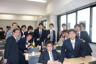 情報科学研究科 卒業・修了祝賀会(2014.3.25)