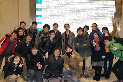 舟越先生歓迎会(2017.12.15)